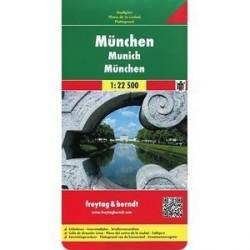 Мюнхен. Карта. Munchen. Munich. Gesamtplan