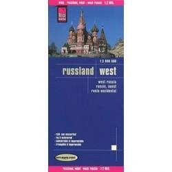 Россия западная. Карта. Russia, West (1:2,000,000)