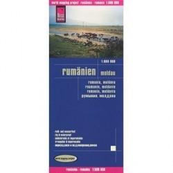 Румыния. Молдова. Карта 1: 600000