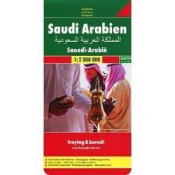 Саудовская Аравия. Карта 1:2 000 000