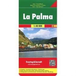 Ла-Пальма. Карта. La Palma