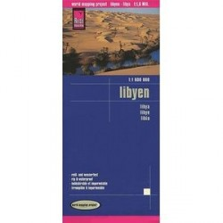 Ливия. Карта. Libyen.Libya