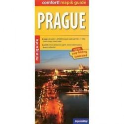 Прага. Ламинированная карта и мини-гид