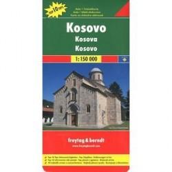 Косово. карта. Kosovo