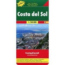 Коста-дель-Соль. Карта. Costa del Sol