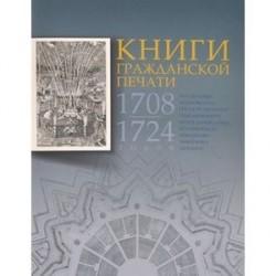 Книги гражданской печати 1708-1724 годов из собрания Московского государственного объединенного музея-заповедника