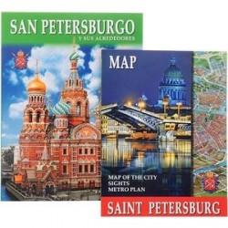 San Petersburgo y Sus Alrededores (+ карта)