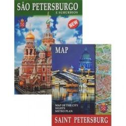 Санкт-Петербург и пригороды, на португальском языке