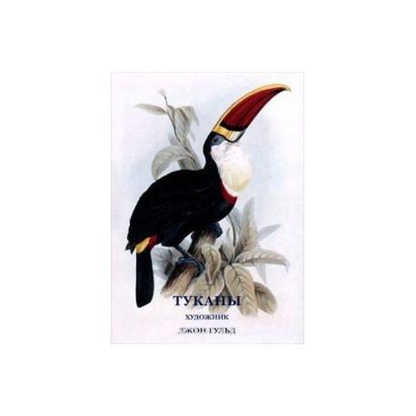 Джон Гульд. Туканы (набор из 15 открыток)