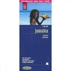 Ямайка. Карта. Jamaica 1:150,000