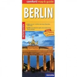 Берлин. Карта и гид. Berlin maps & guide 1: 20000