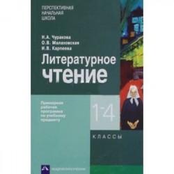 Литературное чтение 1-4кл. Примерная рабочая программа