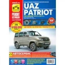 УАЗ Patriot рестайлинг 2012 и 2014 гг., бензиновый двигатель ЗМЗ-40905