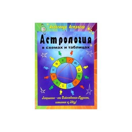 Астрология схемы таблицы