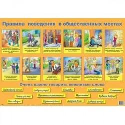 Плакат 'Правила поведения'