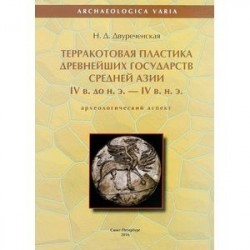 Терракотовая пластика древнейших государств Средней Азии IV века до н.э. - IV в. н.э