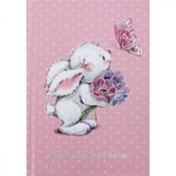 Личный дневник 'Белый зайка' (45464)