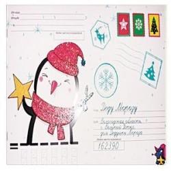 Новогодний пингвин