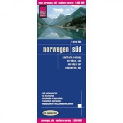 Norwegen Sud. Norway southern 1:500.000