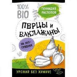 Перцы и баклажаны на эко грядках. Урожай без химии