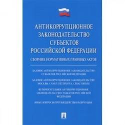 Антикоррупционное законодательство субъектов Российской Федерации