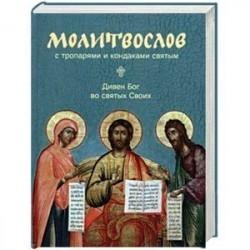 Молитвослов с тропарями и кондаками святым. Дивен Бог во святях Своих