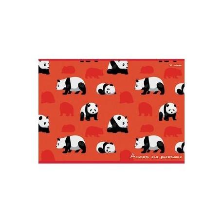 Альбом для рисования 10 листов 'Милые панды' (А101695)