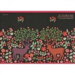 Альбом для рисования 40 листов 'Волшебный сад'