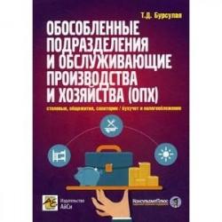 Обособленные подразделения и обслуживающие производства и хозяйства