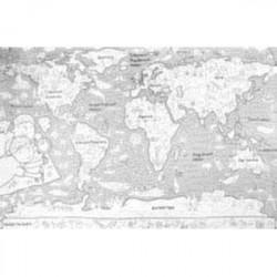 Огромная раскраска 'Карта мира' (PA071)