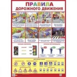 Правила дорожного движения. Плакат