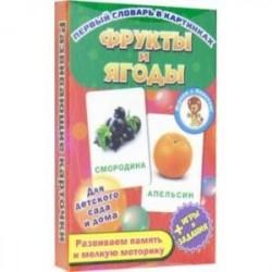 Фрукты и ягоды. Развивающие карточки