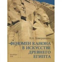 Феномен канона в искусстве Древнего Египта