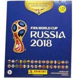 Альбом с наклейками FIFA 365 2019+FIFA Cup Russia 2018