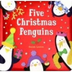Five Christmas Penguins (board book)