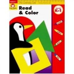 The Learning Line Workbook. Read and Color, Grades K-1