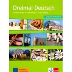 Dreimal Deutsch A2-B1 Lesebuch + CD