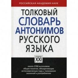 Толковый словарь антонимов русского языка