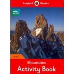 BBC Earth. Mountains Activity Book. Level 2