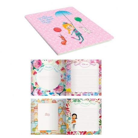Дневничок для девочек 'My stories. Дизайн 4'