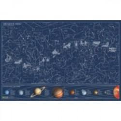 Карта звёздного неба. Светится в темноте