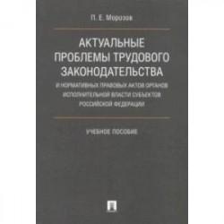 Актуальные проблемы трудового законодательства и нормативных правовых актов органов исполн. власти