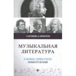 Музыкальная литература в таблицах, схемах и тестах. Полный курс обучения