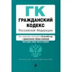 Гражданский кодекс РФ (+ сравнительная таблица изменений) на 17.03.2019 г