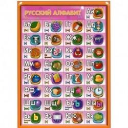 Плакат 'Русский алфавит. Английский алфавит', А5
