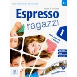 Espresso ragazzi 1. Libro studente e esercizi (+ CD audio + DVD)