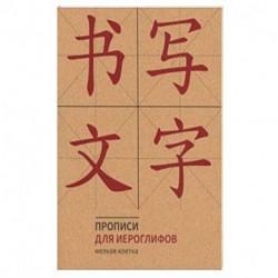 Прописи для китайских иероглифов (Мелкая клетка)