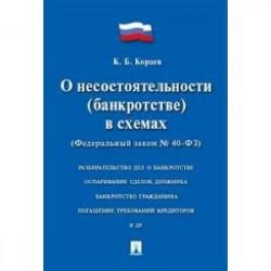 Федеральный закон РФ 'О несостоятельности (банкротстве) в схемах' №127-ФЗ