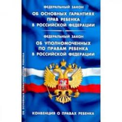Об основных гарантиях прав ребенка В РФ. Конвенция о правах ребенка
