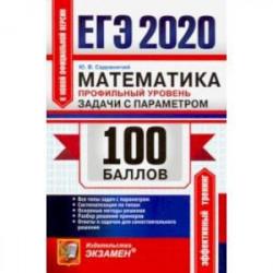 ЕГЭ 2020. Математика. Профильный уровень. Задачи с параметром. Все типы задач с параметром